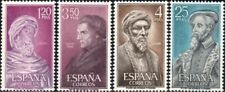 (Ref-13131) Spain 1967 Celebrities   SG.1849/1852  Mint (MNH)