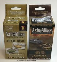 A&A Axis & Allies Miniatures North Africa & Early War Booster Pack NEW from Case