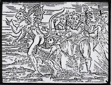 Osculum Infame Satan Occult Pagan Witch Goat The Devil Demon Witchcraft Woodcut
