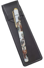 Keeshond Breed of Dog Themed Pen with Pen Case Perfect Gift
