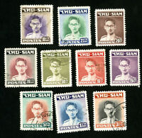 Thailand Stamps # 264-73 VF Used