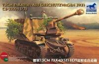 Bronco 1/35 #CB35004 7.5cm Pak 40(sf) Auf Geschutzwagen 39(f) Hot