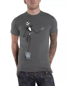Disney Tim Burton Nightmare Before Christmas T shirt - size XL - Grey - unisex