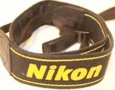 Camera Strap Nikon Genuine Yellow Black - Free Shipping Worldwide