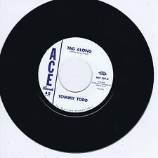 TOMMY TODD - TAG ALONG b/w WILEY JEFFERS - SHE'S COMING BACK AGAIN (Rockabilly)