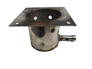 STAINLESS STEEL FIRE BURN POT FOR TRAEGERS UPGRADE REPLACEMENT LONGER LASTING