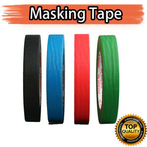 Masking Tape Crepe Paper  DIY Painting Decorating Easy Tear 5-50MM x 50M Craft