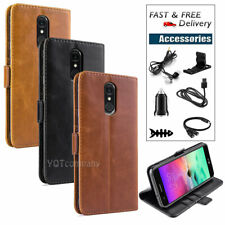 For Lg Stylo 5/Plus Shockproof Leather Wallet Flip Case Cover + Accessories