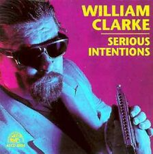 William Clarke - Serious Intentions [New CD]