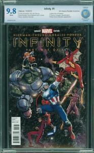 Infinity #1 CBCS 9.8 Arthur Adams Color Variant Avengers War Gauntlet Endgame