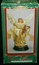 Telco Animated Christmas Angel Figurine Collectible Motionette w/ Original Box