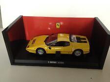 Kyosho 1/18 Ferrari 512 BBI . Yellow and Rare !!