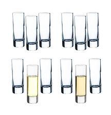 12 Schnapsgläser 6cl Shots Gläser Tequila Glas Ouzo Likör Grappa Vodka Pinnchen
