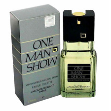 One Man Show By Jacques Bogart 100ml 3.33oz Men E.D.T Spray Free Shipping
