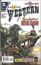 All Star Western 2011 series # 12 very fine comic book