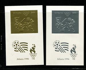 Guyana(1993) 1996 Atlanta Olympics Michel 4294-99var RARE IMPERF  DELUXE SHEETS
