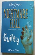 Point Horror - Nightmare Hall: Guilty by Diane Hoh (1995) (Very Good)