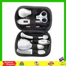 TOMMEE TIPPEE Baby Care Kit Grooming with Carry Case - Black - NEW FREE SHIPPING
