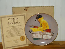 """1984 Norman Rockwell Collectible Plate """"Sport"""""""