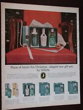 1964 Gillette Sun Up Gift Sets For Men Original Vintage Advertisement