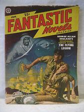 January 1950 vintage FANTASTIC NOVELS pulp magazine George Allan England RARE !!