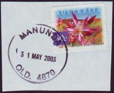 "QUEENSLAND POSTMARK ""MANUNDA"" (2003)"