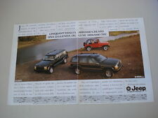 advertising Pubblicità 1993 CHEROKEE/LIMITED/WRANGLER