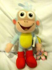"Nick Jr. Dora the Explorer Boots Monkey 8"" Plush Doll Soft Stuffed Toy Figure"