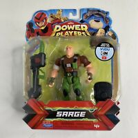 NEW SEALED Playmates Toys ZAG Heroez Power Players SARGE Action Figure Series 1