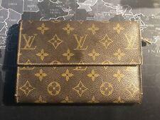 Authentic Louis Vuitton LV Monogram LARGE Wallet