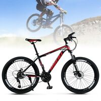 "MTB Mountain Bike 26"" Wheels 21 Speed Bicycle Disc Bicycles F1/"