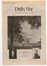 Dalis Car The Waking Hour Peter Murphy Mick Karn Duran Advert NME Cutting 1984