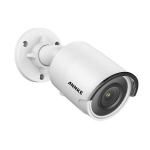 ANNKE 8MP POE Security IP Camera H.265+ 4K Outdoor EXIR Night Vision Home IP67