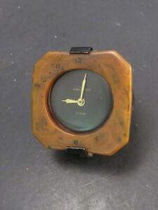 1930 's Accessory Headliner Clock Original Phinney Walker String Wind