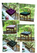 Velvet Chair Cushion Square Home Garden Dining Floor Seat Cushion Pillow Pouf