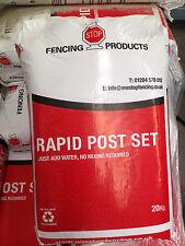 1no Pallet of Post mix (Rapid set) 70 bags per pallet - 20kg Bags