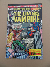 Fear 27 . Morbius The Living Vampire .  F. Robbins . Marvel 1975 . VF