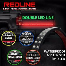 "60"" LED Tailgate Light Bar Truck Pickup Turn Signal Reverse Brake Back-Up Glow"