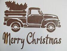 Christmas Tree Truck Stencil/Template Reusable 10 mil Mylar