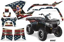 AMR Racing Polaris Sportsman800/500 Graphic Kit Quad Wrap ATV Decal 11-15 WW2