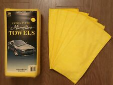 Kirkland Signature 40cm Ultra Plush Microfibre Towels/Soft Cloth - 5 Pack
