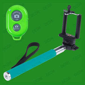 Handheld 100cm Monopod Selfie Stick Fits Most Phones & Bluetooth Remote Shutter