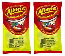 Bulk Lot 2.6 kg x Allens Racing Cars Bag Candy Buffet Lollies Sweets Treats New
