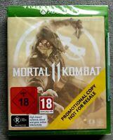 Mortal Kombat 11 Xbox One Promo Microsoft Xbone Fighting Game 2019