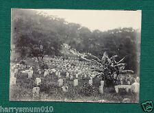 Original photograph Hong Kong China Chinese C 1902  cemetery HPP2