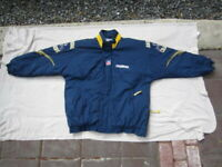 Vintage San Diego Chargers Jacket Starter Pro Line Quilted Men's Size XL Blue 1