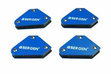 4pc 9lb Capacity Mini Magnetic Welding Aids Clamp Set Sheet Metal Holder BER6680