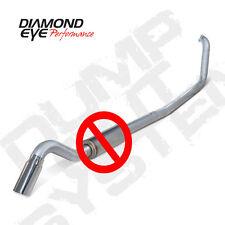 "Diamond Eye 4"" SS Turbo Turn Down No Muff 99-03 Ford F250 F350 7.3 Powerstroke"