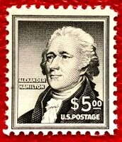 US Stamps SC#1053 $5 Hamilton Liberty Series Single