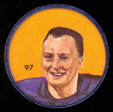 1963 CFL NALLEY'S POTATO FOOTBALL SP COIN #97 CEC LUINING WINNIPEG BLUE BOMBERS